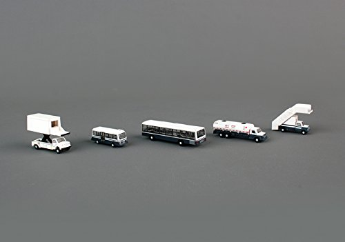 Gemini Jets 1:200 G2APS450 Boxed Set of 5 Airport Service Vehicles