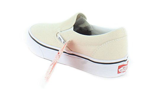 Vans U Classic Slip-on, Baskets mode mixte adulte Birch/True White