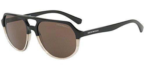 Emporio Armani Herren 0ea4111 Sonnenbrille, Braun (Sand Brown), 57