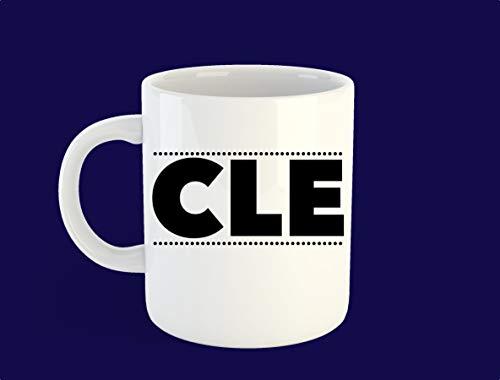 Cle Mug, Cleveland Mug, Cleveland Gift, Ohio Gift - 11 OZ Coffee Mugs