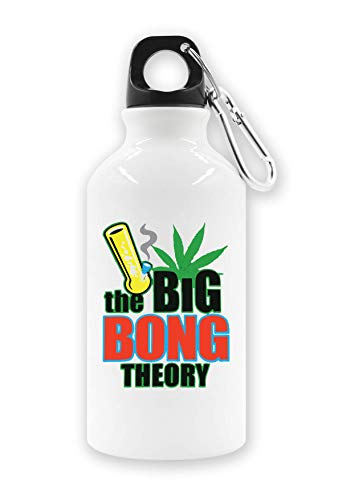 ShutUp The Bong Theory Artwork Tourist Wasserflasche