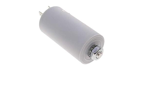 Motor Laufen Kondensator f/ür Elektromotor 18/µF 450VAC BeMatik