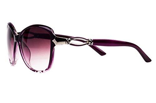 E Fashion Up Oversized Women's Sunglasses (2339|1|Black)