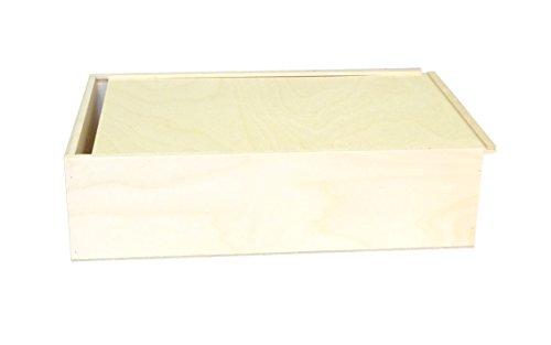 Geschenksbox, Weinkiste, Schnapskiste, 3er Schiebe Kiste 360 x 240 x 90