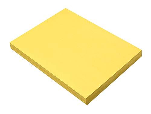 Pacon Sunworks Bau Papier, gelb, 100-Count
