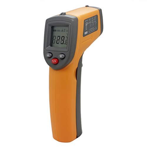 UKCOCO IR Infrarot Thermometer Berührungslose LCD Hintergrundbeleuchtung Temperatur Gun Scanner IR Laser Punkt Gun Tester-50 bis 360 Grad