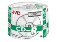 JVC Premium Grade CDR80 700MB Recordable CD - 50 Spindle Pack