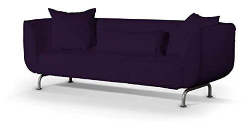 Dekoria rivestimento per divano a 3 posti str mstad rivestimento per divano copridivano fodere - Divano viola ikea ...
