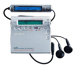 Sony-MZ-R900S-Recordable-MiniDisc-Walkman-Silver