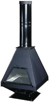 16 KW Fireplace High Efficient Modern Log Burner Multifuel Woodburning Stove New