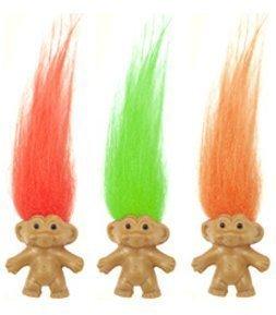 Mini-Troll Puppen - verschiedene - jeweils