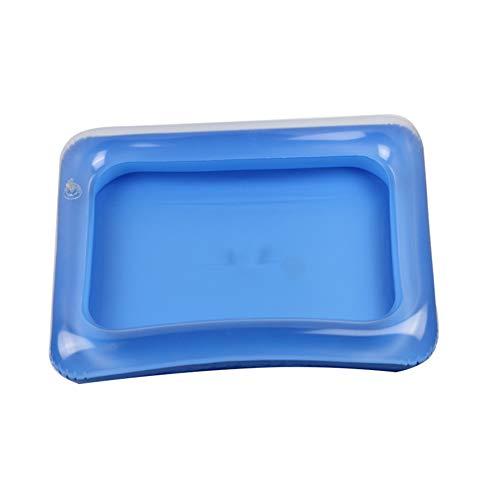 iche aufblasbare Sandkasten Bunter Sand Erdnuss Tisch für Kinder im Strand (gelegentliche Farbe) ()