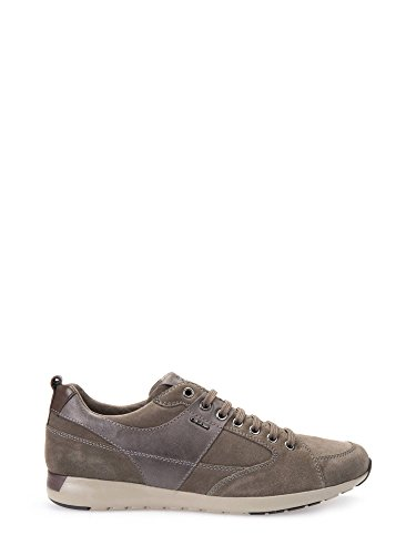 Geox U54F8D022ME Sneakers Uomo Scamosciato Taupe Taupe 44
