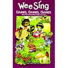 Wee Sing Games, Games, Games: More Than 60 Favorites to Play and Sing