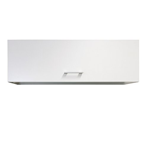 Flex-Well Küchen-Klapphängeschrank LUCCA | Oberschrank vielseitig einsetzbar | 1-türig | Breite 100 cm | Weiß