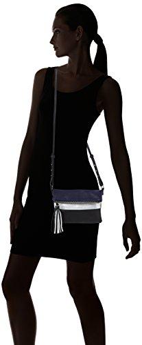 PIECES - Pcjina Cross Body, Borse a tracolla Donna Nero (Black)