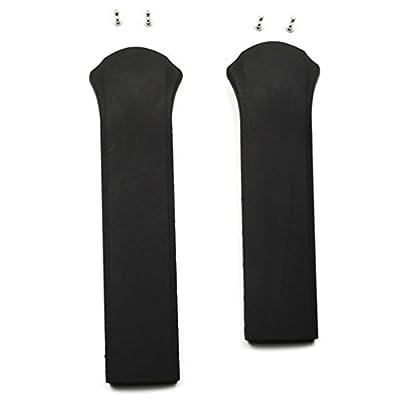 Correa caucho negra Tissot T-Tracx T610024840 modelos T010417A
