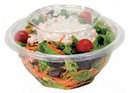 FaisTonGateau - Lot de 50 bols salade 370cc - 50 bols salade ronds