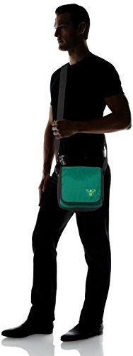 Chiemsee Unisex-Erwachsene Easy Shoulderbag Plus Umhängetasche, 8x20x21 cm Mehrfarbig (Hashtag)