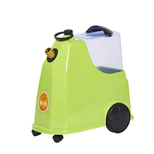 ZCM Ferro a Vapore, Tessuto ad Alta capacità e vapori per Indumenti Stiratura compatta Senza Problemi per Viaggi in Ufficio E-8 (Colore : Fruit Green)