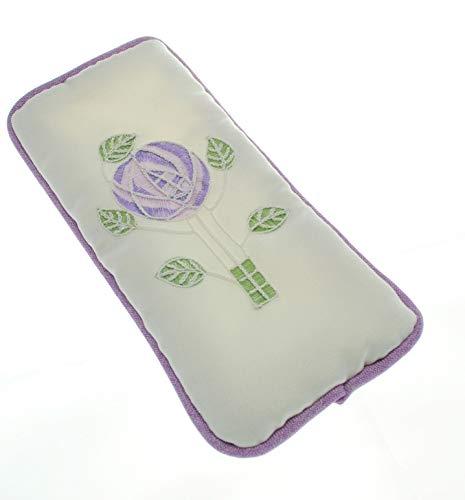 Justina Claire Brille Fall in Einer Mackintosh Purple Rose Design -