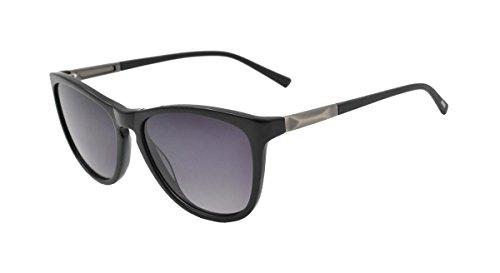 Sonnenbrille Crocs, CS040 schwarz mit grün polarisiert lensen