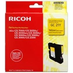 Preisvergleich Produktbild Ricoh Gelsprinter Tonerkartusche Standardkapazität, gelb