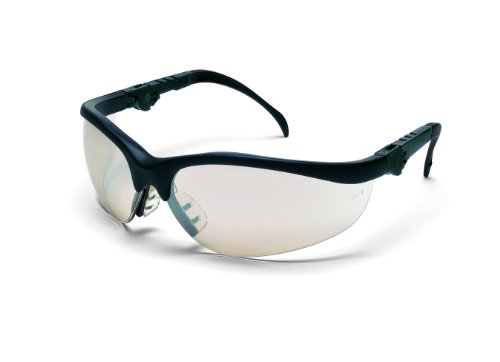crews-kd319-klondike-plus-ratchet-temple-safety-glasses-with-negro-frame-and-indoor-outdoor-clear-mi