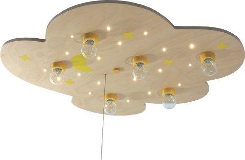 Niermann Standby 610 LED Deckenleuchte Wolke buche XXL