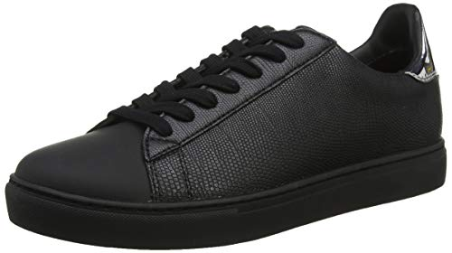 Armani Exchange Low-Top sneaker, Herren Niedrig, Schwarz (Black 00002), 41 EU (7 UK)