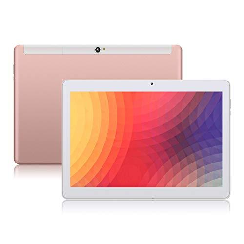 "Android 8.1 Tablet 10 Zoll, PADGENE Quad Core CPU Tablet-PC mit Dual SIM Karten Slots, 2.0MP+5.0MP Dual Kamera , WiFi, Bluetooth, GPS (10\""(1G+16G), Roségold)"