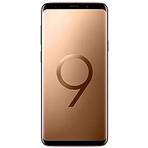 Tim Samsung 775430 G965F Galaxy S9+ Smartphone Schermo 6.2 pollice, 12 MP Fotocamera, Android 8.0, 64 GB, Oro (Sunrise Gold)