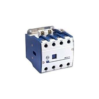 L&T CS97011 L&T 4 Pole contactor 32A MCX 03 240VAC AC1 duty, 20 x 20 x 20, White