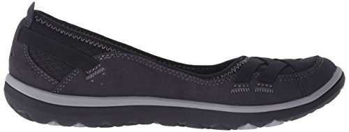 Clarks Aria Pump Flat Black Synthetic