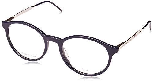 Tommy Hilfiger Brille TH 1642 PJP, Acetat, Metall, Blau/Dunkelblau, Ruthenium PJP Acetat, Kunststoff, Ruthenium