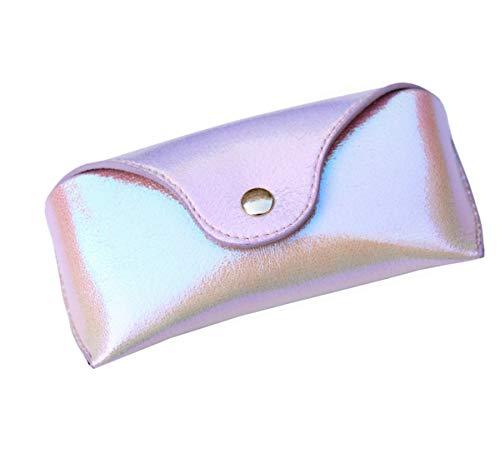 Lucky Leaf Brillenetui für Sonnenbrillen, extra mittelgroß, Hartschale, Brillenetui Gr. 85, Glistening Pink