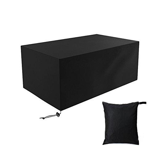 Sarplle copertura fodera protettiva fodera per mobili fodera per tavolo da giardino 210d oxford fodera per mobili da giardino, tavoli da giardino e set di mobili