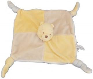 Doudou plat Winnie Disney gris jaune jaune jaune Baby Nicotoy - 587/2055   2019  1a6346