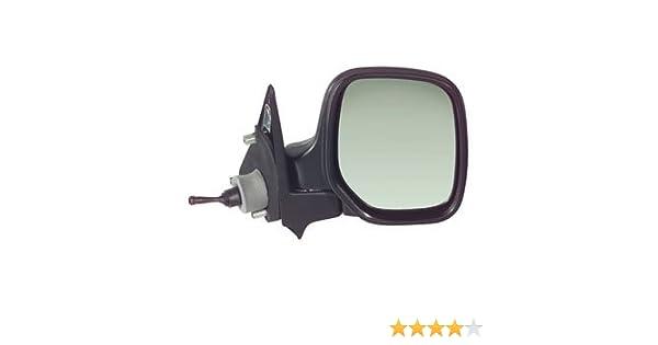 Manual Driver Side Black Door Mirror// Wing Mirror // Complete Mirror RH Citroen Berlingo 1996,1997,1998,1999,2000,2001,2002,2003,2004,2005,2006,2007,June 2008 Cable Control