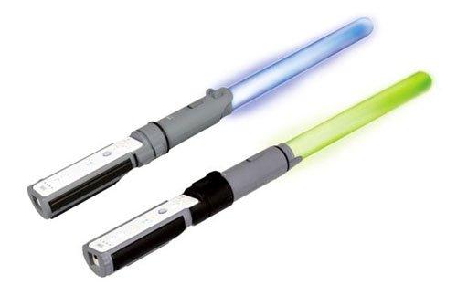 Offizielles Star-Wars-Lichtschwerter für Wii Anakin und Yoda - Duell-Pack - Wii-lichtschwert