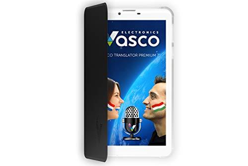 """Vasco Translator Premium 7"""": Elektronischer Übersetzer für 40 Sprachen mit Spracherkennung"""