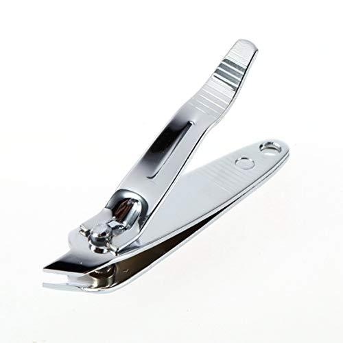 Noradtjcca Nagelknipser, Seitenkante abgewinkelte Nagelhautschere, Edelstahl, scharfer und haltbarer Nagelschneider für Männer und Frauen