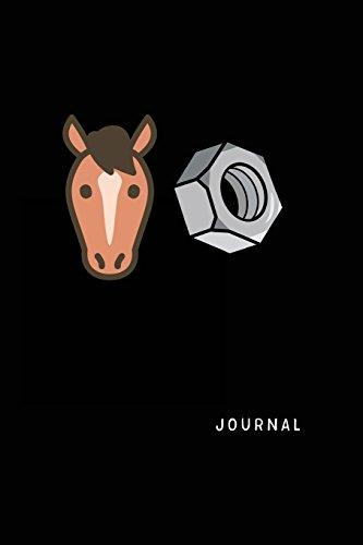 Journal: Horse Notebook Lined Gift por Dartan Creations