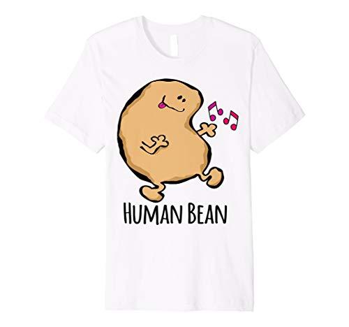 Human Bean Boogie Human Being Funny Pun Shirt T-shirt