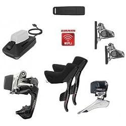 SRAM Red eTap HRD WiFLi - Piezas para bicicletas - 2x11 Flatmount negro 2018