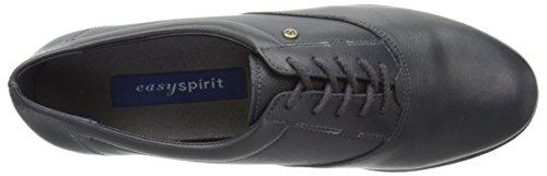 Easy Spirit Women's Motion Sport Lace Up,Navy Leather,10 D Cuir bleu marine