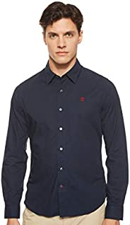 Timberland Men's LS Eastham River Stretch Poplin Solid S