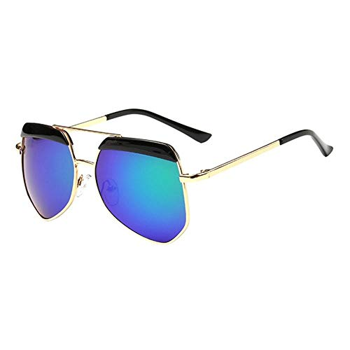 Sonnenbrille Neue Kinder Brillenmode Rundes Gesicht Multilateralen Big Frame Sonnenbrillen Für Mädchen Und Jungen Schwarz Blau