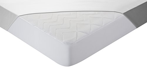 Pikolin Home - Protector de colchón acolchado cubre colchón lyocell para cuna, híper-transpirable y extra suave, 60 x 120 cm, cuna (Todas las medidas)