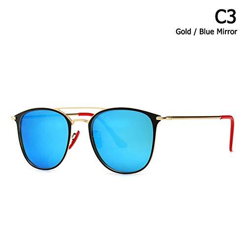Taiyangcheng Square Style Sonnenbrillen Beam Red Nose Pad Sonnenbrillen,C3